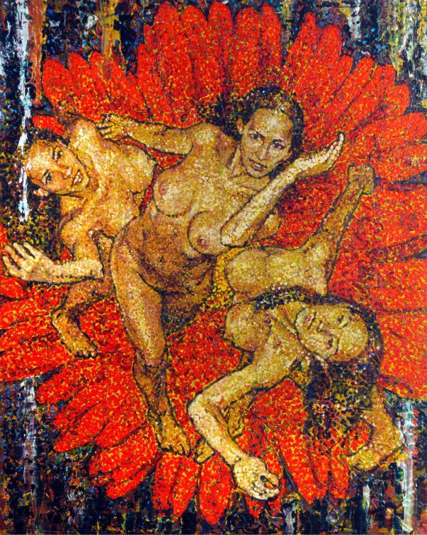 E-10-12-69 Three Graces Sold - Giovanni DeCunto - Boston Artist