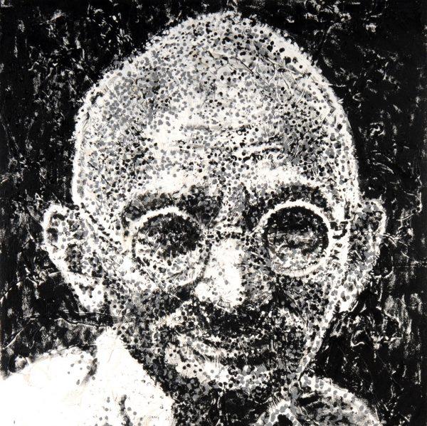 Gandhi - Giovanni DeCunto - Boston Artist