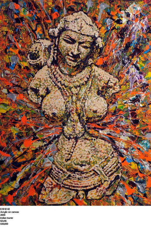 Indian Burst - Giovanni DeCunto - Boston Artist