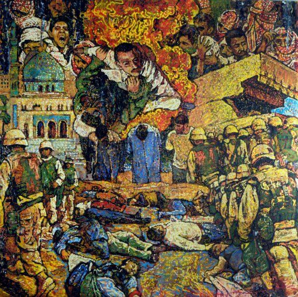 Iraq War - Giovanni DeCunto - Boston Artist