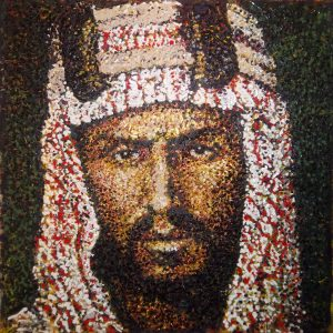 King Abdulaziz - Giovanni DeCunto - Boston Artist