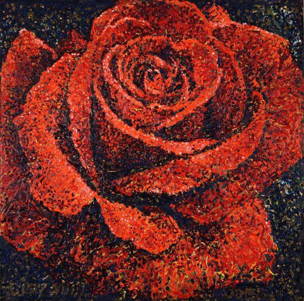 Roses are Red - Giovanni DeCunto - Boston Artist