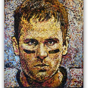 Tom Brady - Giovanni DeCunto - Boston Artist
