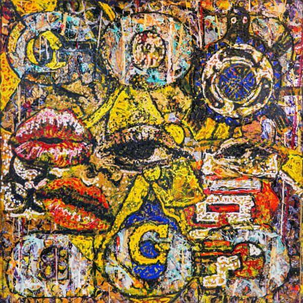 Eyes 1-4 - Giovanni DeCunto - Boston Artist