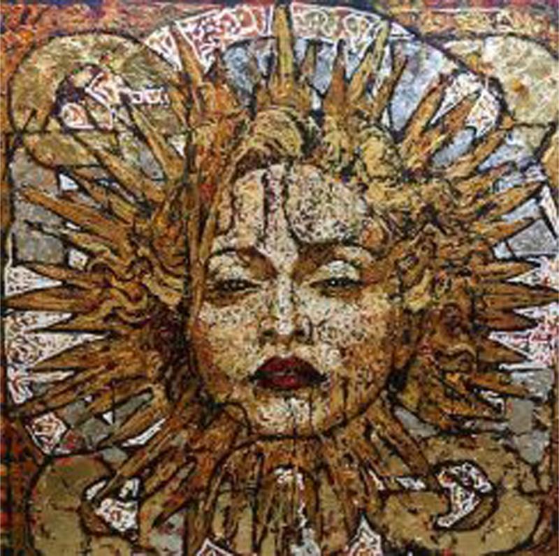 Madonna Sun in the Stars - Giovanni DeCunto - Boston Artist