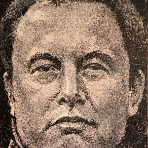 Elon Musk - Giovanni DeCunto - Boston Artist