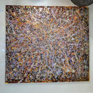 Orange Abyss - Giovanni DeCunto - Boston Artist