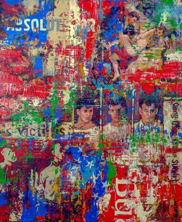 Rape In America - Giovanni DeCunto - Boston Artist