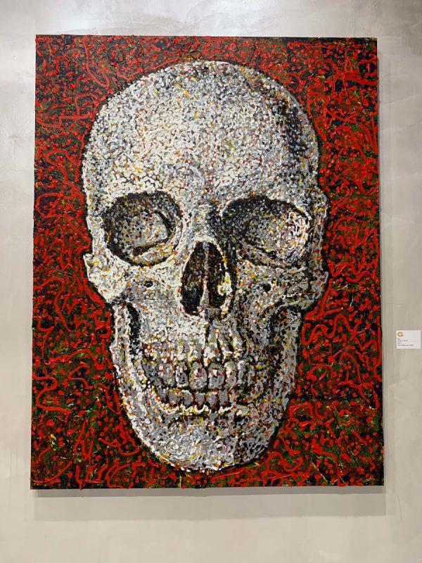Red Skull - Giovanni DeCunto - Boston Artist