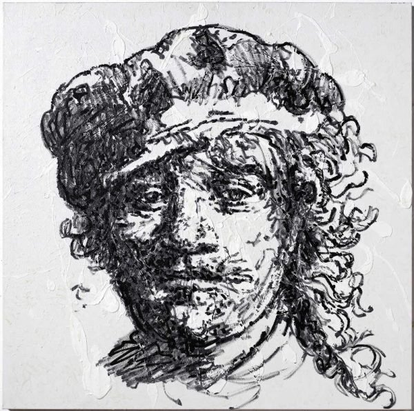 Portrait of the artist as a young man - by Rembrandt 1633